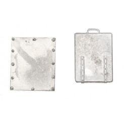 Escotilla de cubierta de metal de 20mm
